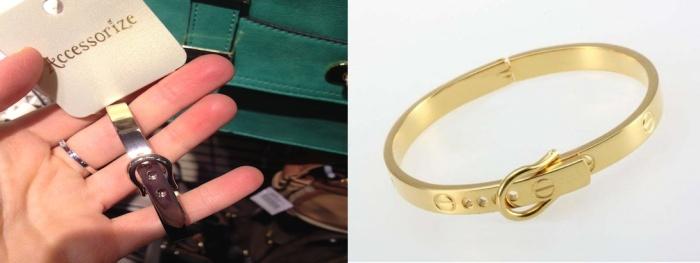 Accessorize VS Cartier