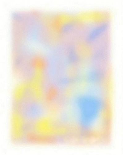 Look in the middle until everything disappears.