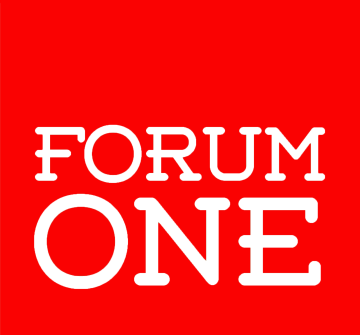 forum-one-logo red